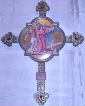 Kristus L'abbaye de St. Antoine, Frankreich