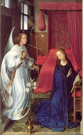 Verkündigung - Rogier van der Weyden